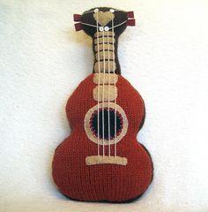 Ukulele Knitting Pattern