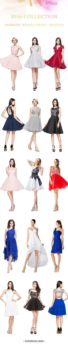 Do you need one chic #homecomingdresses for your homecoming? 2016 Collection Fashion Homecoming Dresses!