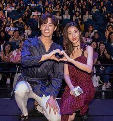 Korean Drama Romance, Korean Drama Funny, Cute Relationship Goals, Cute Relationships, Girl Cartoon Characters, Chines Drama, Chinese Babies, Alien Girl, Cute Actors