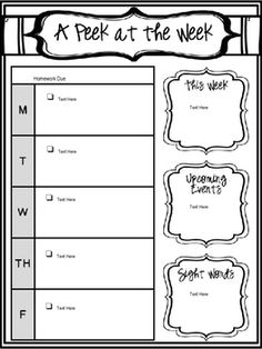 Best ideas about Homework Planner Printable on Pinterest     Pinterest