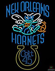 Colt 45 Orleans Hornets Neon Sign NBA Teams Neon Light