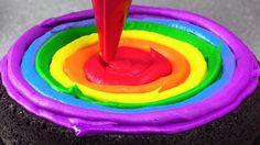 Amazing Rainbow Cakes: Most Satisfying Cake Decorating Compilation Tutor...