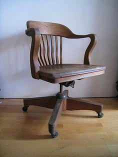 oak desk chair art deco swivel tilting rolling office chair art deco desk chair office side armchair