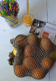 Filet crochet rustique