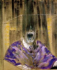 Francis Bacon (1909-1992) Bacon was an Irish expressionist painter. He portrayed not the outside of the persons, but the inside. His paintings often have a grotesque, dark and terrifying look.