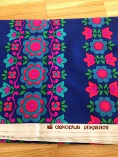 Vintage dekoplus fabric