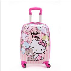 Hello Kitty luggage for girls http://luggageforkids.net