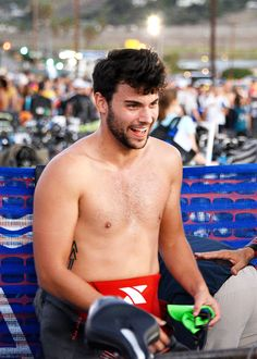 Jack Falahee participates in the Nautica Malibu Triathlon in Malibu, California - September 20th, 2015