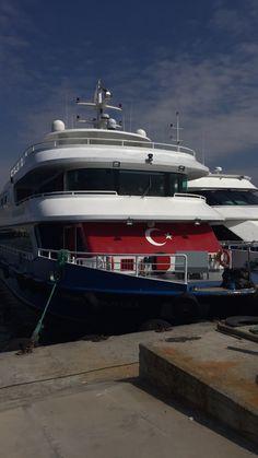 M/V Pasifik Yıldızı.It moves passenger Bostanci to Prince Islands.