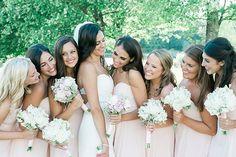 Wedding party   © Nicole DeTone Photography