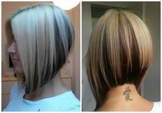 Longer inverted bob!