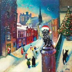 'Christmas Time at Greyfriars' by Rob Hain