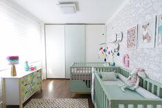 Decora Rosenbaum Temporada 3 - Quarto de bebê. Composição berços em L. Foto: Felipe Felco Valle