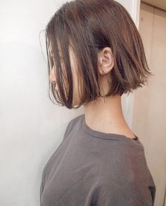 Short Bob Hairstyles, Hairstyles Haircuts, Pretty Hairstyles, Girl Short Hair, Short Hair Cuts, Cut My Hair, New Hair, Medium Hair Styles, Short Hair Styles