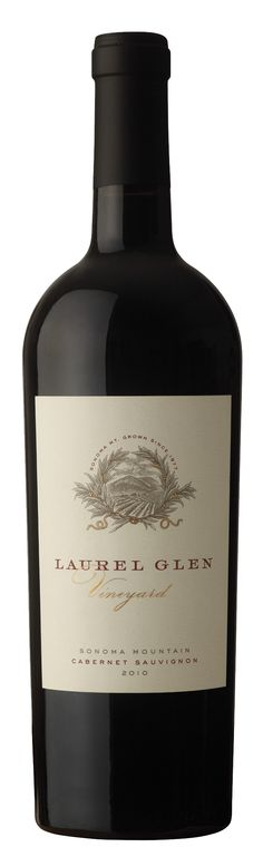 Laurel Glen Vineyard Label Illustrated by Steven Noble