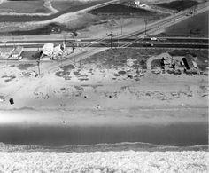 Warner and PCH where Huntington Beach and Sunset Beach join in 1960. www.jeffreymarkell.com #orangecountyrealtor #orangecountyrealestate  #jeffforhomes