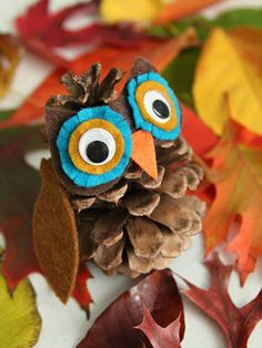 Grab a few pinecones from your backyard and spend an afternoon transforming them into adorable woodland critters with your kids. Get the tutorial at Whimsy Love »  - GoodHousekeeping.com