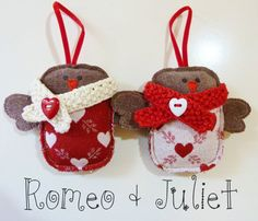 Sooo cute (and great photo too!) £14 for the pair by SewSweetViolet on etsy