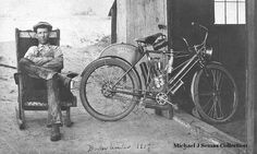 1908 Indian Motorcycle
