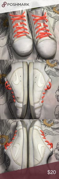 Nike White Nike Sky High Air Jordan Sneakers Shoes Size 10.5US - Condition 8/10 - nice pair of shoes Nike Shoes Sneakers