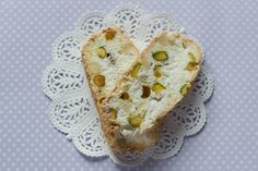 Lemon and Pistachio Biscotti