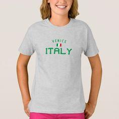 Distressed Venice Italy Girls' T-Shirt  rwanda travel, greece travel tips, infographic travel #traveltipster #iamtraveler #naturebrilliance, 4th of july party