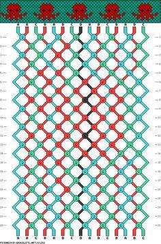 Do It on friendship bracelet patterns - 15 strings, 22 rows, 4 colors octopus friendship bracelet patterns - 15 strings, 22 rows, 4 colors octopus String Bracelet Patterns, Diy Bracelets Patterns, Diy Bracelets Easy, Embroidery Bracelets, Bracelet Crafts, String Bracelet Designs, Knotted Bracelet, Floss Bracelets, Ankle Bracelets