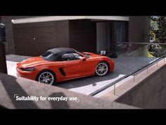 Porsche: The new 718 Boxster – Everday usability