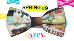 increible pajarita con estampado de helados. Ideal para esta primavera-verano para refrescar tus eventos y tu manera de vestir más original.