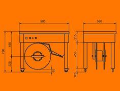 AB 1400 Flejadora semi-automática de mesa