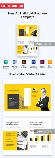Microsoft Brochure Templates Free Download Stunning Professional Business Proposal Templates De…  Brochure & Flyer .
