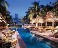 The Peninsula Bangkok.