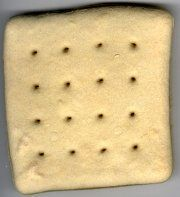 Straw out of hardtack? Make Your Own Hardtack. It helps to keep flour indefinitely. Add to your bug out bags for quick energy. Urban Survival, Homestead Survival, Survival Food, Outdoor Survival, Survival Prepping, Survival Skills, Survival Hacks, Survival Stuff, Survival Shelter