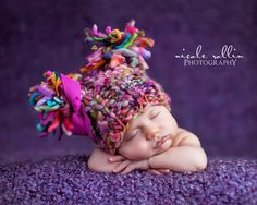 NEWBORN Photography Prop - Baby Knit Hat - Twin Prop - PeachPoshPolkadots - PHOTO 2 by PeachPoshPolkadots on Etsy https://www.etsy.com/listing/247705747/newborn-photography-prop-baby-knit-hat