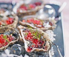 #Huîtres fraîches à la #vinaigrette de #framboise