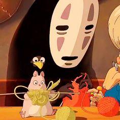 Spirited Away - Hayao Miyazaki, Ghibli Studio Art Studio Ghibli, Studio Ghibli Movies, Studio Ghibli Quotes, Hayao Miyazaki, M Anime, Anime Love, Anime Art, Anime Girls, Chihiro Y Haku