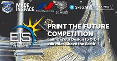 Want to have your designs 3D printed in space? Enter this competition. #ULTIMAKER #3DPRINT #3DPRINTER #3DPRINTING