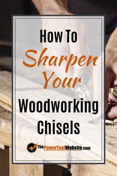 Learn the simple method for sharpening your chisels. Don't over-complicate this process. I'll show you how to make your chisels have a mirror finish. Woodworking Chisels, Woodworking Hand Tools, Easy Woodworking Projects, Woodworking Techniques, Woodworking Shop, Unique Woodworking, Diy Your Furniture, Kid Furniture, Cardboard Furniture