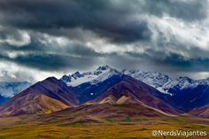 Polychrome Pass - Denali National Park - Alaska - USA. Alasca - Visitando o Denali National Park and Preserve | Nerds Viajantes