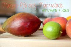 Mango-Pfirsich- Marmelade mit Limette und Kokos – So bleibt...