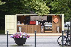 COFFEE-INN design by Dalia Mauricaite, Nauris Kalinauskas