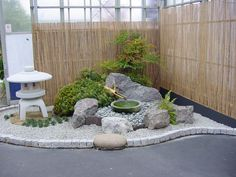 Japanese Garden Display at Coolings - Build a Japanese Garden UK