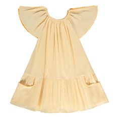 Carmensita Ruffled Dress Ketiketa Children- A large selection of Fashion on Smallable, the Family Concept Store - More than 600 brands.