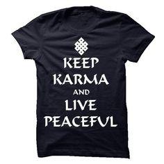 Keep Karma And Live Peaceful