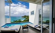 Very private and so stylish, The Refuge is the ultimate Tortola beach villa!