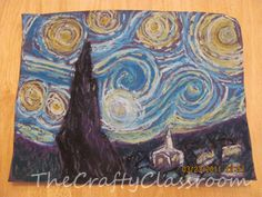 Famous Artist Crafts - from Van Gogh to Monet to Mondrian to Jackson Pollock, there are a lot of art-inspire crafts to incorporate into lessons.