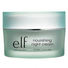 Cosmetics Nourishing Night Cream helps rehydrate and refresh skin overnight for glowing, healthy looking skin. Eyes Lips Face, Putting On Makeup, Oily Hair, Ingrown Hair, Pencil Eyeliner, How To Apply Makeup, Makeup Remover, Makeup Yourself, Lotion