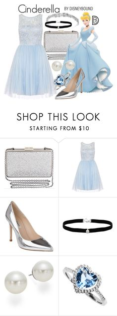 """Cinderella"" by leslieakay ❤ liked on Polyvore featuring BCBGMAXAZRIA, Dorothy Perkins, L.K.Bennett, AK Anne Klein, Prom, disney, disneybound and disneycharacter"