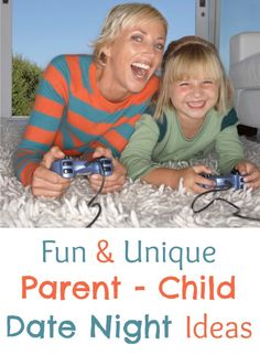 """Husband and wife date nights are some of the best nights of the month, but there is another type of """"date night"""" that is worth mentioning – kid date night ideas! Special times to show them that you care about them and to give you that special time to connect with your kids one on …"""