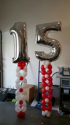"""Megaloon balloons set from 6"""" quick links. www.balloons.com.au"""